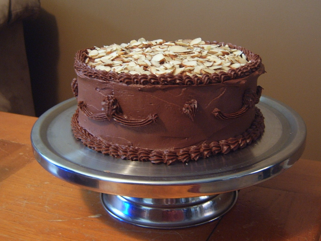 Chocolate Almond Tort